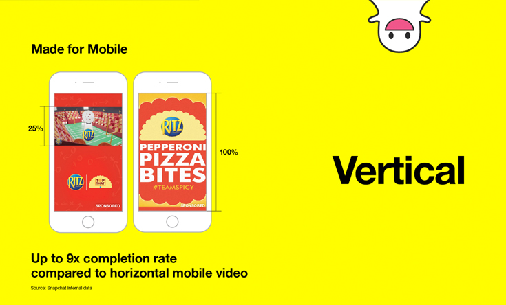 snapchat ads specifications