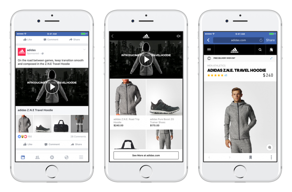 facebook collections ads