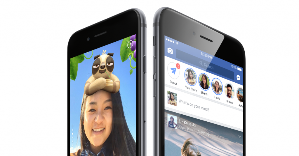 facebook stories for pages