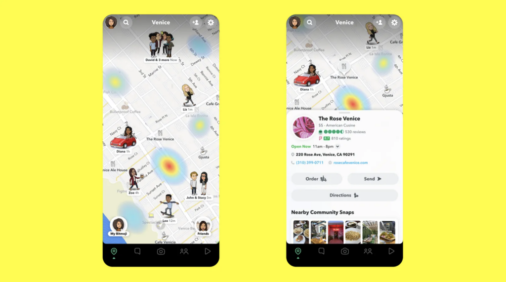 snap maps augmented reality